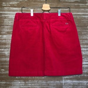 Vineyard Vines Berry Preppy Corduroy Skirt Sz 10